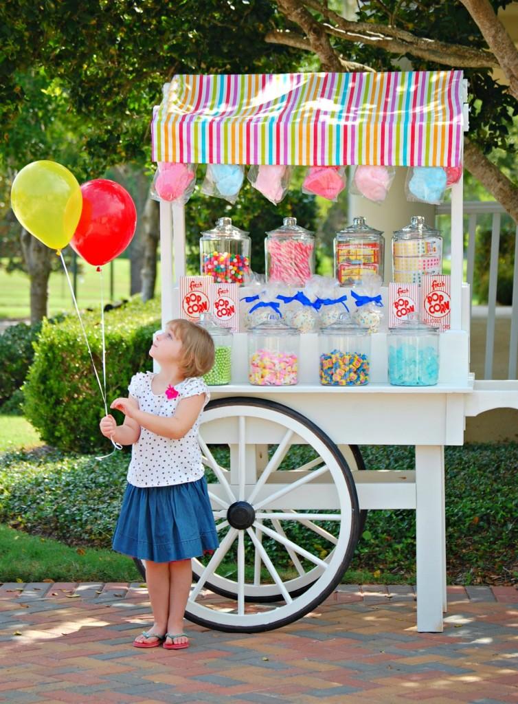 sweet Peyton's sweets cart
