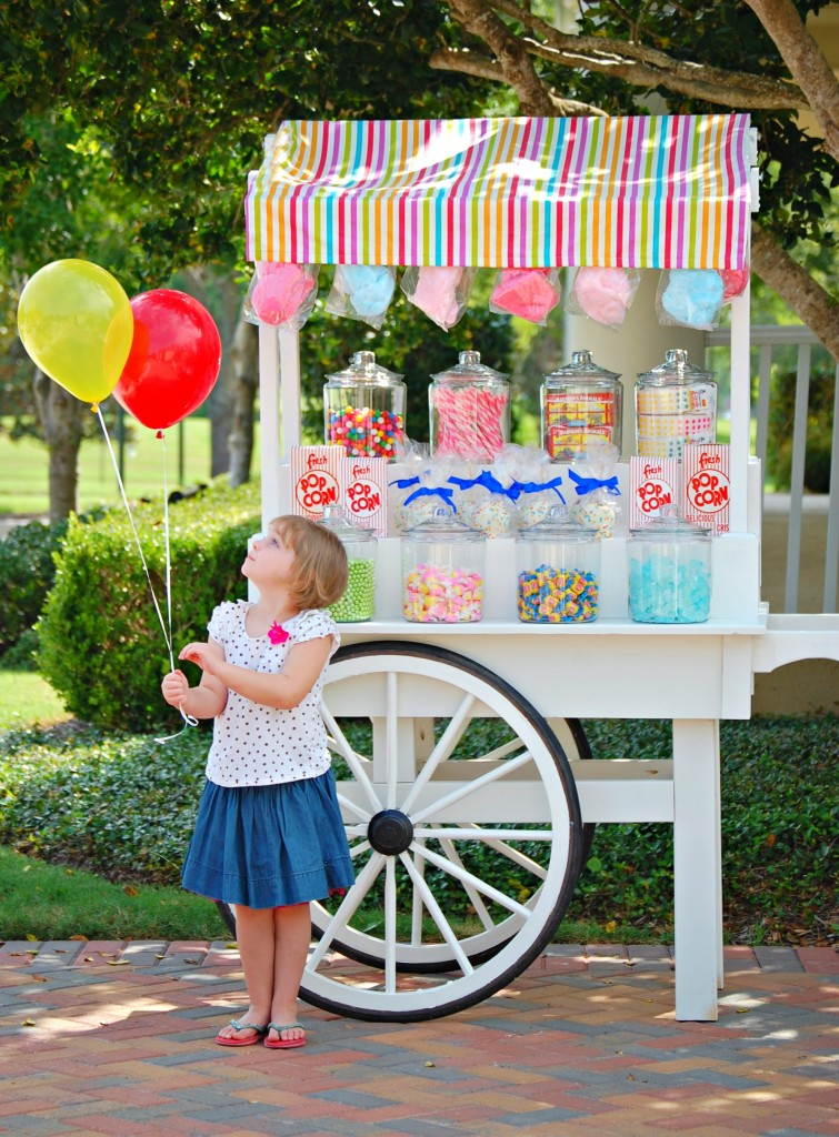 Mary Had a Little Party - Custom Candy Cart
