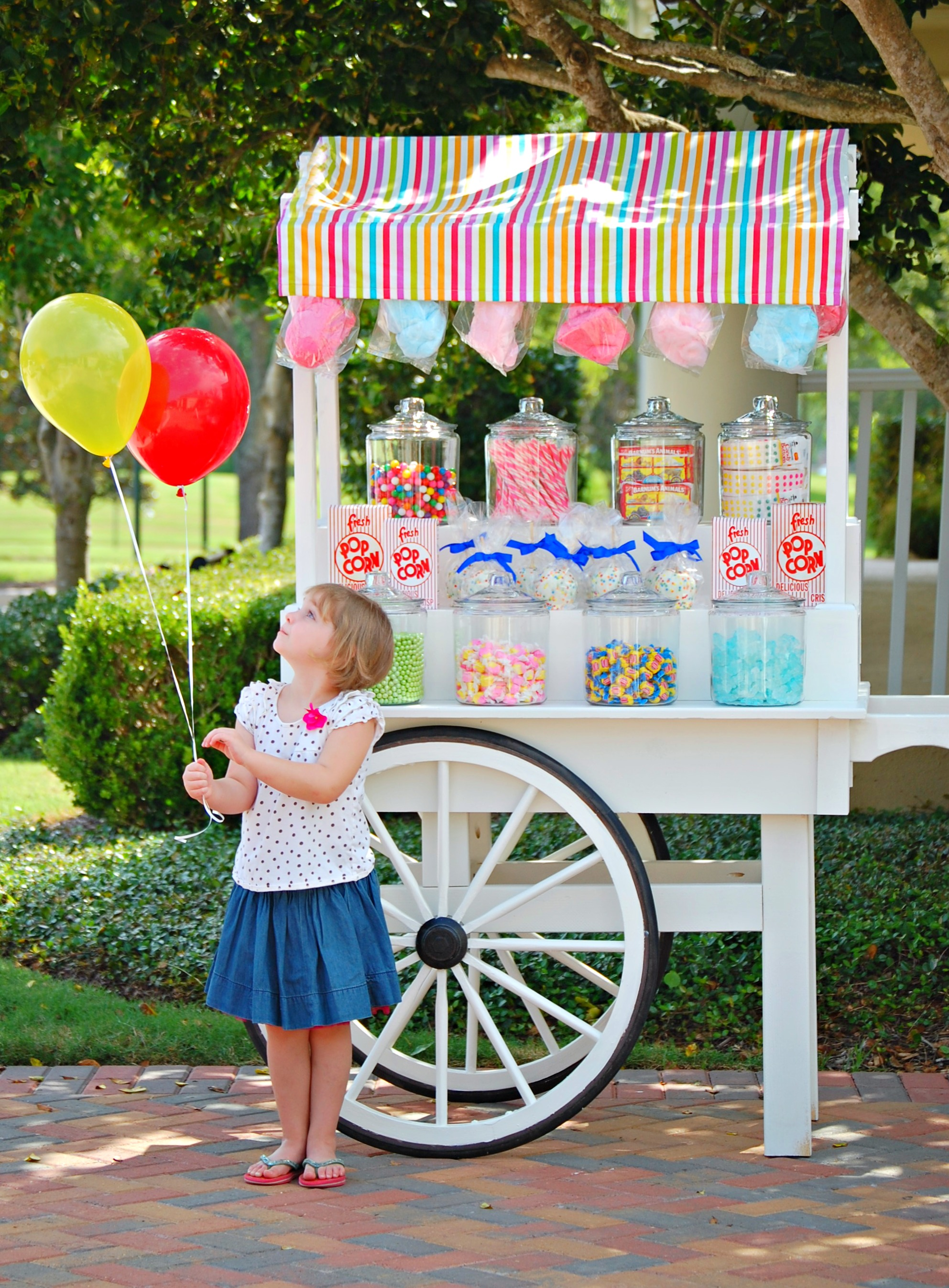 Custom Candy Cart Mary Had A Little Party